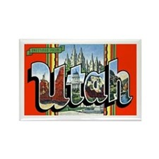 Utah Greetings Rectangle Magnet
