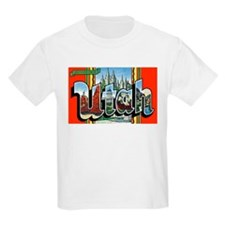 Utah Greetings (Front) Kids T-Shirt