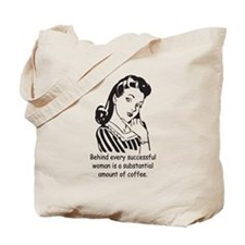Vintage Housewife Tote Bag