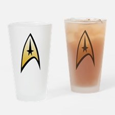 Cute Trek Drinking Glass