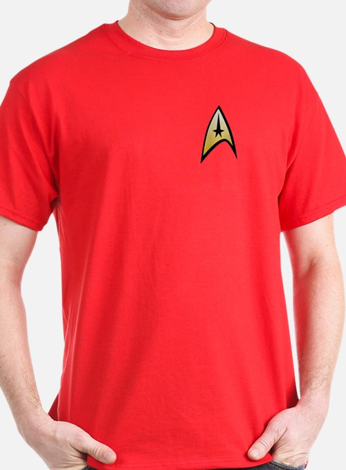 Star Trek Captain T-Shirt