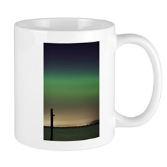 Camano Island, Washington Northern Lights Mug