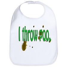 I throw poo!