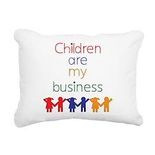 Children are my business Rectangular Canvas Pi
