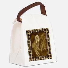 Glowing Angel Canvas Lunch Bag