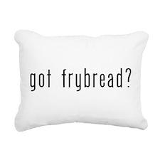 gotfrybread.png Rectangular Canvas Pillow