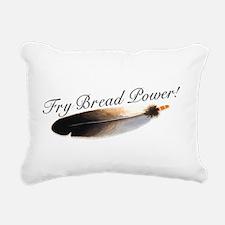 frybreadfront.png Rectangular Canvas Pillow