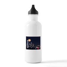 Seattle Space Needle Full Moon Water Bottle