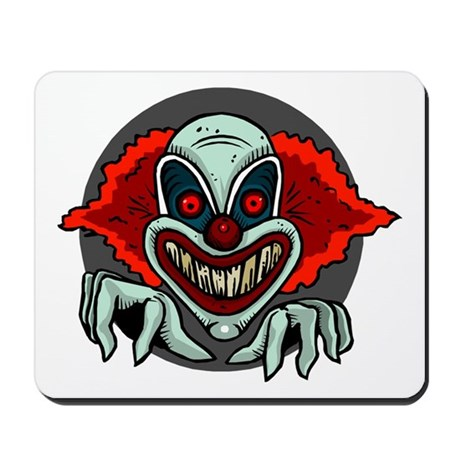 Evil Clown Mousepad