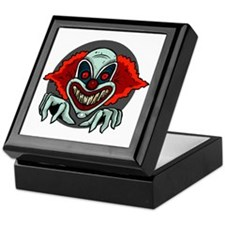 Evil Clown Keepsake Box