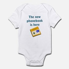 The phonebook Infant Creeper