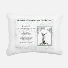 Tree Of Life Bible Scrip Rectangular Canvas Pillow