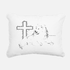 Lion Of Judah Rectangular Canvas Pillow