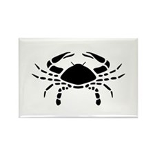 Cancer - The Crab Rectangle Magnet