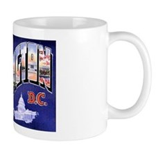 Washington, D.C. Greetings Mug
