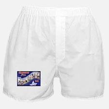 Washington, D.C. Greetings Boxer Shorts