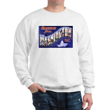 Washington, D.C. Greetings Sweatshirt
