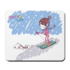 Girly Winter Mousepad
