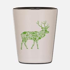 Going Green Shot Glass