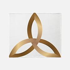 Holy Trinity Throw Blanket