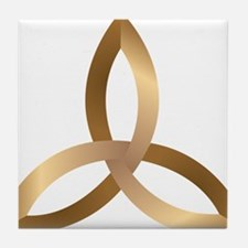 Holy Trinity Tile Coaster
