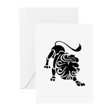Leo - The Lion Greeting Cards (Pk of 10)