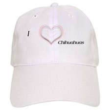 I heart Chihuahuas Baseball Cap