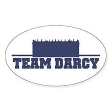 Darcy Oval Decal