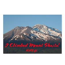 Unique Mt. shasta Postcards (Package of 8)