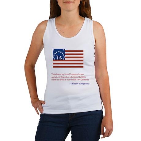 Bennington Flag Women's Tank Top