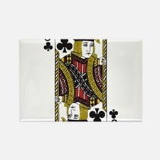 Jack of Clubs Rectangle Magnet