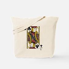 Jack of Clubs Tote Bag