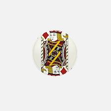 Jack of Diamonds Mini Button