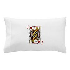 Jack of Diamonds Pillow Case