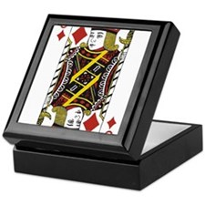 Jack of Diamonds Keepsake Box