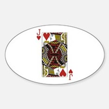 Jack of Hearts Decal