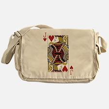 Jack of Hearts Messenger Bag