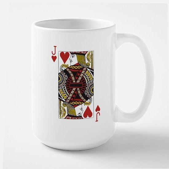 Jack of Hearts Large Mug