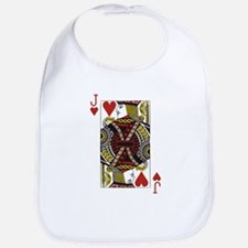 Jack of Hearts Bib
