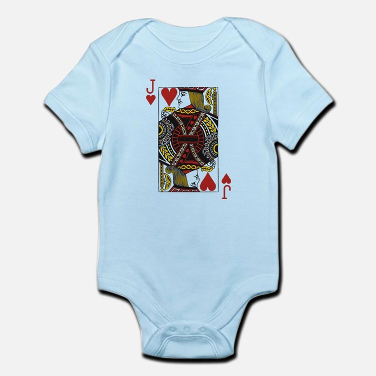 Jack of Hearts Infant Bodysuit