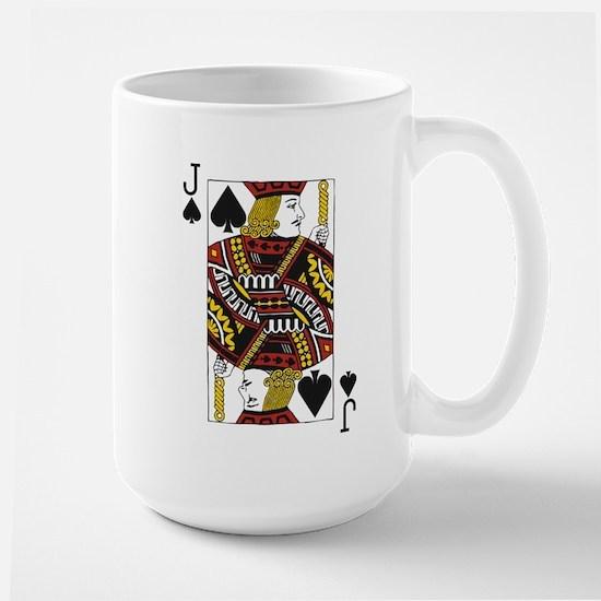 Jack of Spades Large Mug