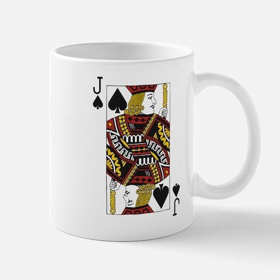Jack of Spades Mug