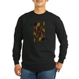 Jack of spades Long Sleeve T-shirts (Dark)