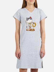 Lucky Cat Women's Nightshirt