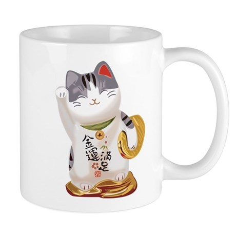 lucky cat cup
