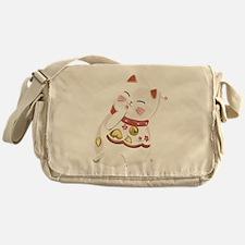 Lucky Cat Messenger Bag