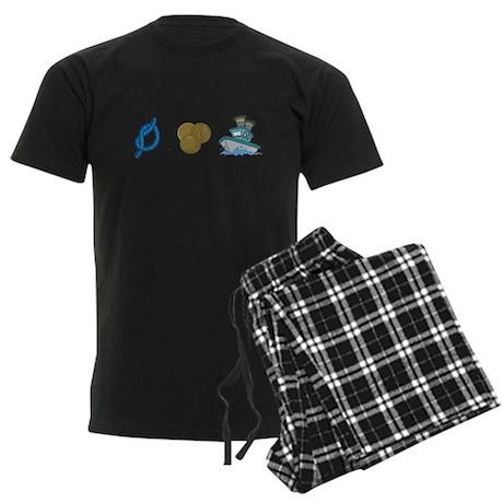 Not Pennys Boat Men's Dark Pajamas