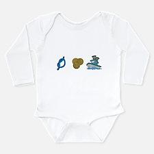 Not Pennys Boat Long Sleeve Infant Bodysuit