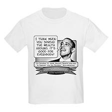 Obama Sez to Spread the Wealth Around T-Shirt
