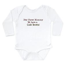 nursemommy_codebrown1 Onesie Romper Suit